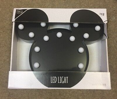 BNIB Disney Mickey Mouse LED Light - Primark - Sold Out!