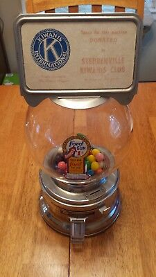 Ford Antique Gumball Machine 1950s