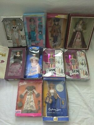 Barbie Lot Of 9, With Cloth, See's Candies, Cool Collecting, 1959 Reproduction..