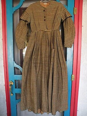 Antique Civil War Era Women's Dress / gown