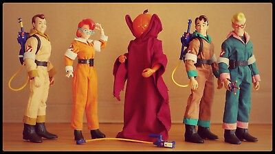 "SALE* Real Ghostbusters Retro 8"" Mego Style Action Figuren Mattel * Lose / loose"