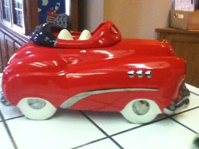 Highly Collected Artists Glenn Appleman Red Buick Convertible Cookie Jar