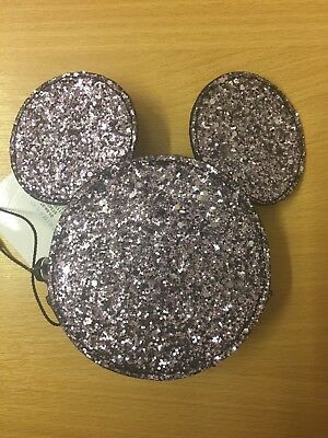 BNWT Disney Mickey Mouse Sparkly Purse - Primark