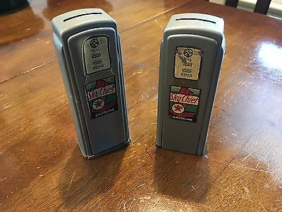 Vintage Texaco gas pump banks (2)