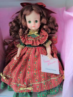 """14"""" Madame Alexander Country Christmas 1543 Doll MIB Mint in Box Orig. $124.99"""