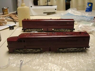 American Flyer Alco dual powered a unit Diesel and B unit with horn
