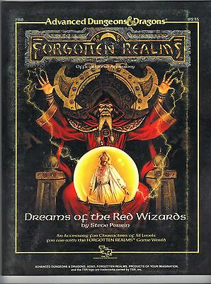 Dreams of the Red Wizards FR6 1e Forgotten Realms TSR 9235 Price Inc Del in UK