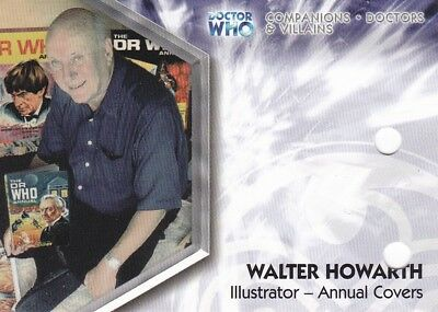 Dr/ Doctor Who Triolgy Walter Howarth Dwt-A15 Unsigned Auto Punched Trading Card
