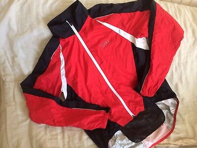 """Gore Contest cycling jacket weatherproof mens large 42"""" chest"""