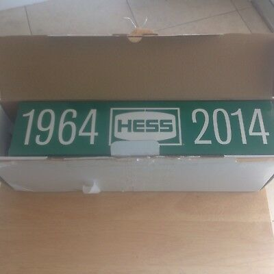 Hess Truck 50th Anniversary 1964-2014 Collector's Limited Edition w/Orig.Box