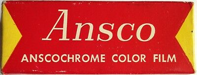 ANSCO ANSCOCHROME 127 Film Expired 1964 Rare Vintage Film