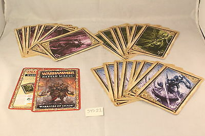 Warhammer Warriors of Chaos Magic Cards