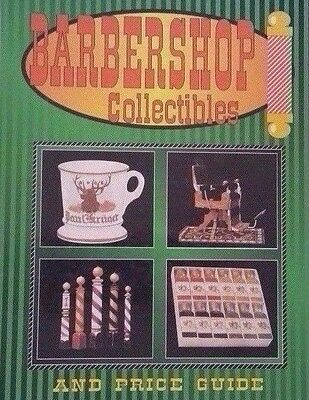Vintage Barbershop Collectibles Value Guide Collector's Book