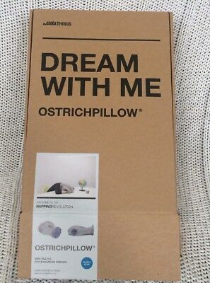 Original Ostrich Pillow Authentic Dream With Me Nap Travel Pillow