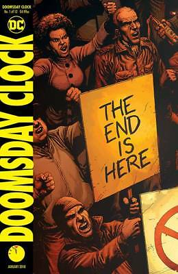 Doomsday Clock #1 Geoff Johns Gary Frank Dc 1St Print 22/11/17 Nm