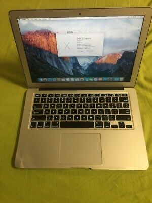 "A31 Apple Macbook Air 13"" 2013 I5 1.3 Ghz 4gb 256Gb Ssd Laptop Portable Notebook"