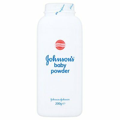 Johnsons Baby Powder 200g for Nappies | Combined P&P Max £6.99 on all shop items