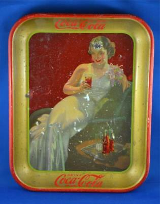 Limited Edition Canadian Vintage Coca-Cola Tray. Advertising Tray For Coke.