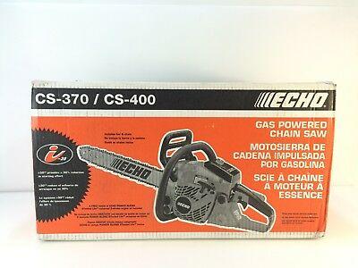 * ECHO CS-400-18 18 in. 40.2cc Gas Chainsaw