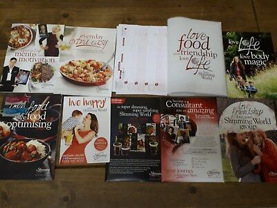 Slimming world updated starter pack Inc Food optimising Book - great condition
