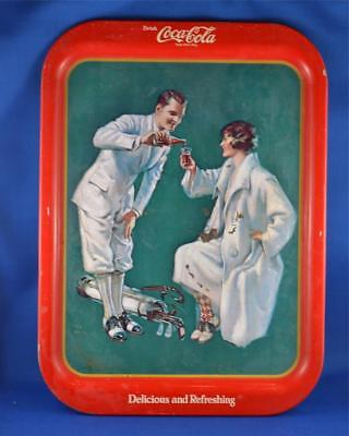 1973 Reproduction Of 1920 Limited Edition Canadian Vintage Coca-Cola Tray