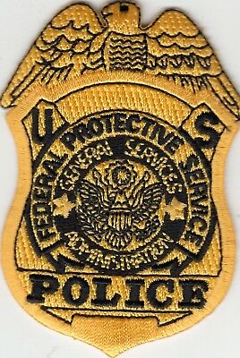 Federal Protective Service Hat Size Police Patch Dc District Of Columbia