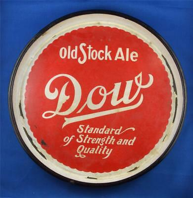 Antique Dow Old Stock Ale Advertising Beer Vintage Tray Montreal Quebec Ale Tray
