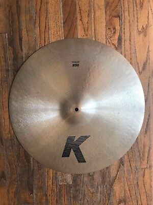 Zildjian K 20'' ride. The good ones from the 90's in excellent condition!