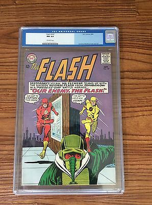 Flash 147 CGC 9.4 NM OW Pgs 2nd Reverse Flash Old Label