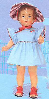Petitcollin : Francoise in Play Dress and Bonnet