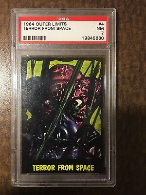 !!! 1964 Outer Limits Usa !!! #4 Terror From Space Psa Nm 7 !!! Set Break