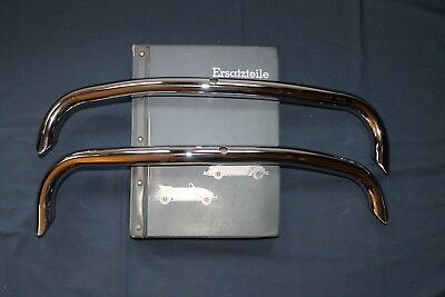 Vintage NOS 1967 VW Beetle Rear Bumper Over Riders
