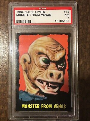 !!! 1964 Outer Limits Usa !!! #12 Monster From Venus Psa Nm 7 !!! Set Break