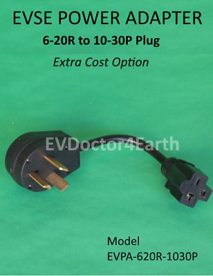 Sale! Adapter - Electric Vehicle Car Charger 240V, 6-20R to 10-30 P dryer Plug