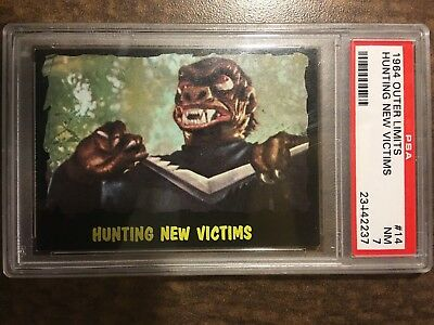 !!! 1964 Outer Limits Usa !!! #14 Hunting New Victims Psa Nm 7 !!! Set Break