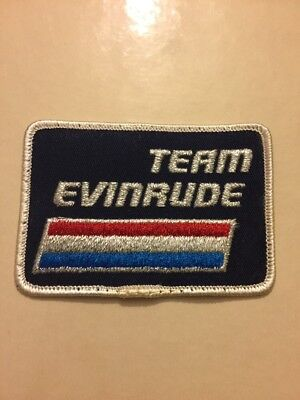 Vintage Evinrude Boat Motors Team Patch Unused Free Shipping