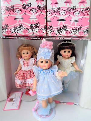"""8"""" Modern Vogue Ginny Miss 1980s The Wavette Hair Doll in Curlers Baby Dolls"""