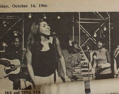 Ike And Tina Turner 1966 - 1971 Clippings Lot