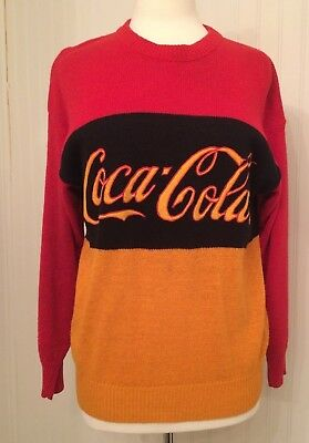 vintage Coc Cola logo sweater