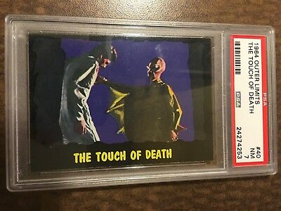 !!! 1964 Outer Limits Usa !!! #40 The Touch Of Death Psa Nm 7  !!! Set Break