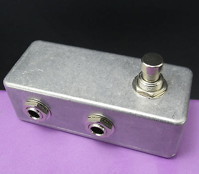 NEW Guitar A/B Footswitch Pedal AB MUTE Switch
