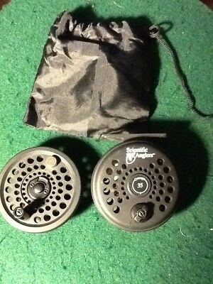 Scientific Anglers concept 35 fly fishing reel gear w/ extra spool