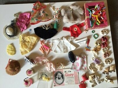 Large Ginny lot.some hard to find items dresses shoes accessories trunk hats etc