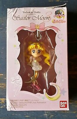 NEW IN DAMAGED BOX Sailor Moon TWINKLE DOLLY Strap Charm figure Serenity BANDAI