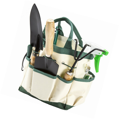 Image result for Pure Garden 75-08002 8 Piece Garden Tool and Tote Set