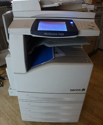 Xerox WorkCentre 7435 ,  A3 Farb- Multifunktionssystem ,  wie 7425, 7428,