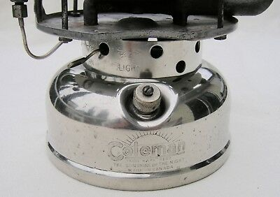 Coleman Model 500 Single Burner Camp Stove * Fine Condition * Camping * 1939
