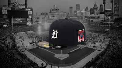 EMINEM Monster Tour New Era 59FIFTY 5950 Detroit Tigers Fitted Hat Cap