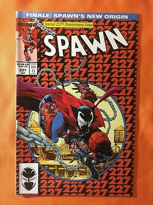 SPAWN # 227 (VF)•Todd McFarlane Homage Cover to AMAZING SPIDER-MAN 300•