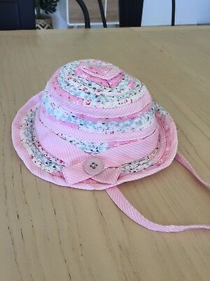 Baby Girl Milly Mook Hat XS 46cm 0-6mths Pink